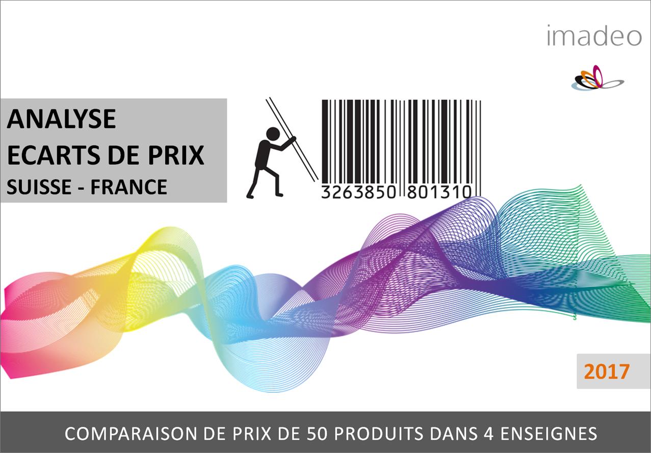 Etude de marché : Analyse écarts de prix Suisse - France