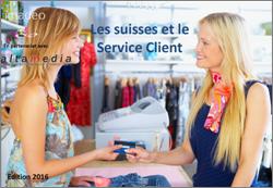 Etude de marché : Les suisses et le service client